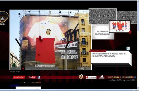 Adidas El poder de la roja