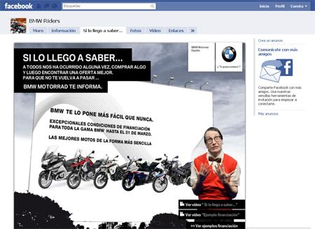 Campaña Facebook Motorrad
