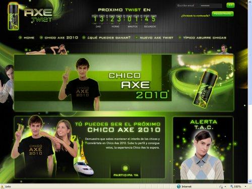 Chico Axe 2010