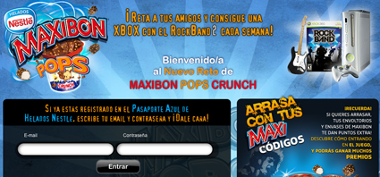 Maxibon Pops Crunch