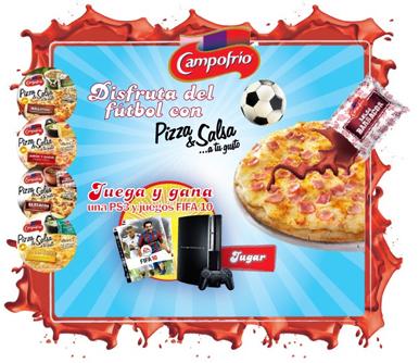 Campofrio Pizza y Fútbol