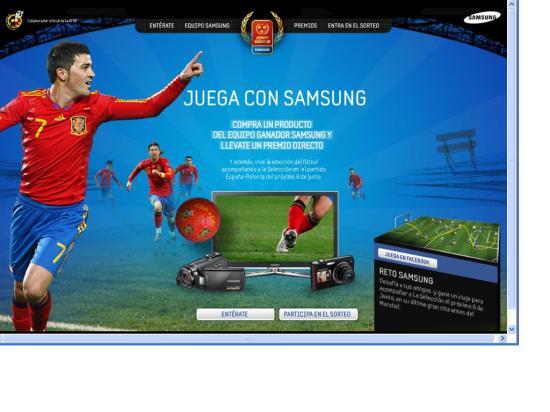 Samsung Equipo Ganador