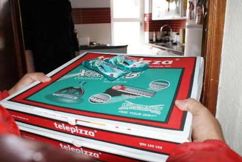 Telepizza y Wilkinson