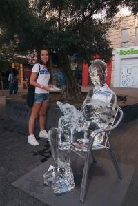 Estatuas de hielo