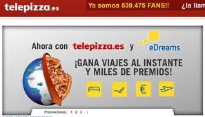 Telepizza y Edreams