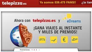Telepizza y Edreams